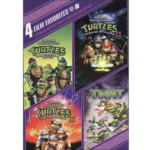 4 Film Favorites: Teenage Mutant Ninja Turtles - Teenage Mutant Ninja Turtles / Teenage Mutant Ninja Turtles II The Secret Of The Ooze / Teenage Mutant Ninja Turtles III / Tmnt (2007)