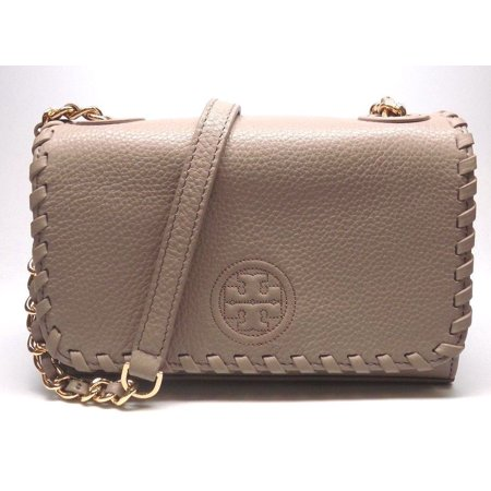 7027912f953 Tory Burch - NEW TORY BURCH (40873) FRENCH GRAY LEATHER MARION SHRUNKEN SHOULDER  BAG HANDBAG - Walmart.com