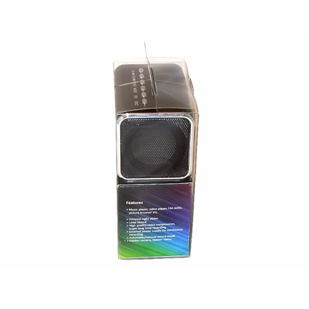 Infrared Mini Security Cam Clock Hidden MicroSD Video Recorder Webcam