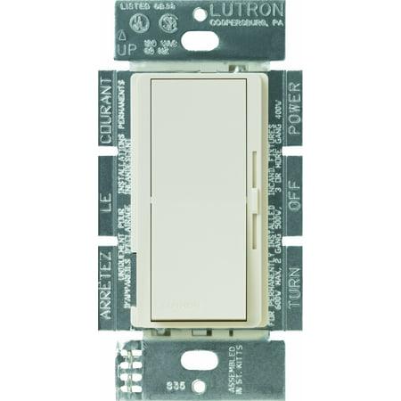 Lutron Lutron DV-603PG-LA Diva 600-Watt 3-Way Eco-Dim Dimmer, Light (La Light Almond)
