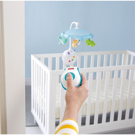 73d13de6a5486 Fisher-Price 2-in-1 Projection Crib Mobile