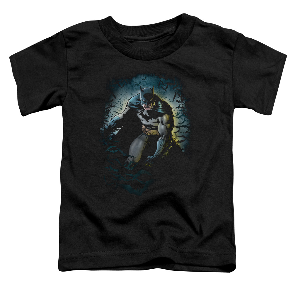 Batman/Bat Cave   S/S Toddler Tee   Black      Bm1891
