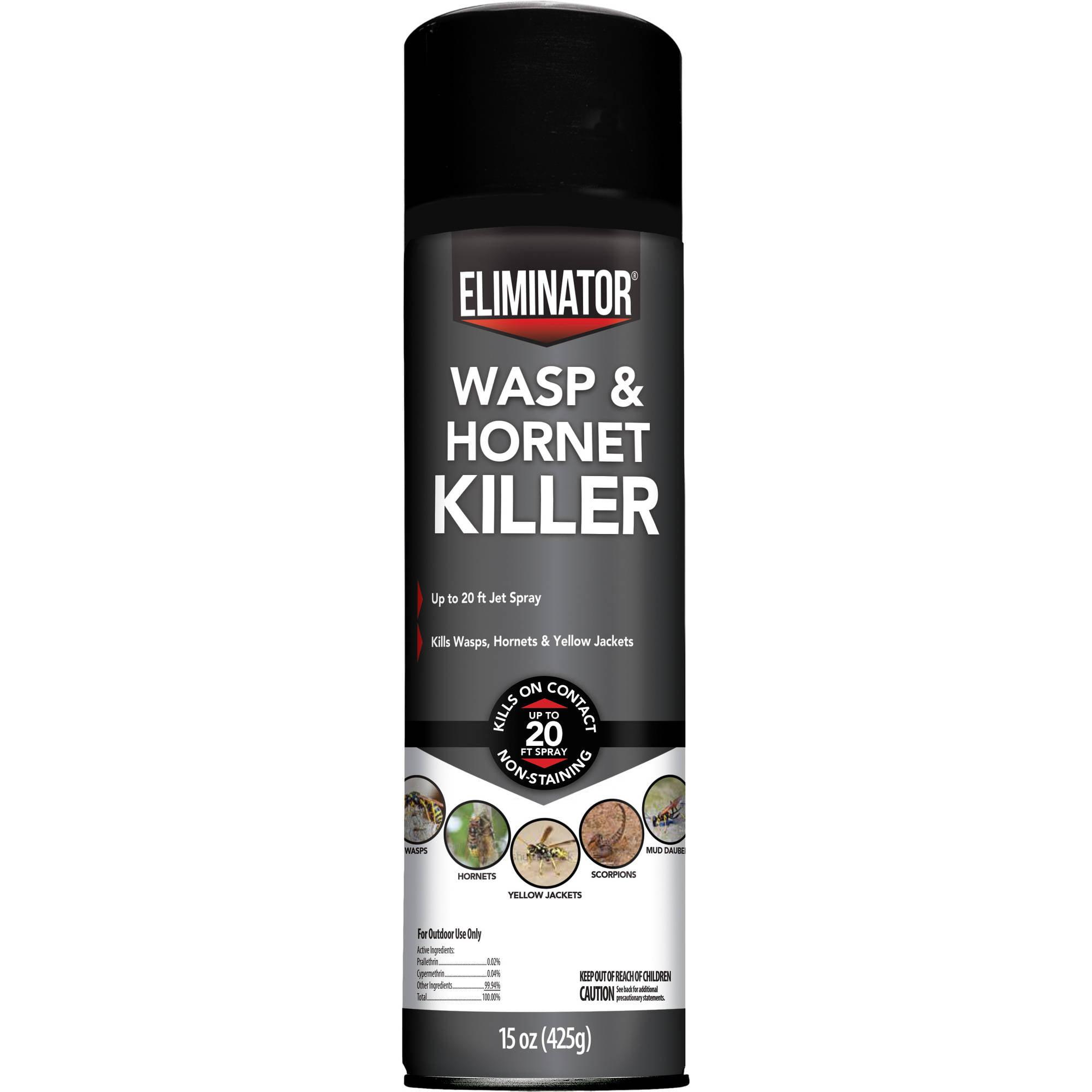 Eliminator Wasp & Hornet Killer, Aerosol Spray, 15-Ounces