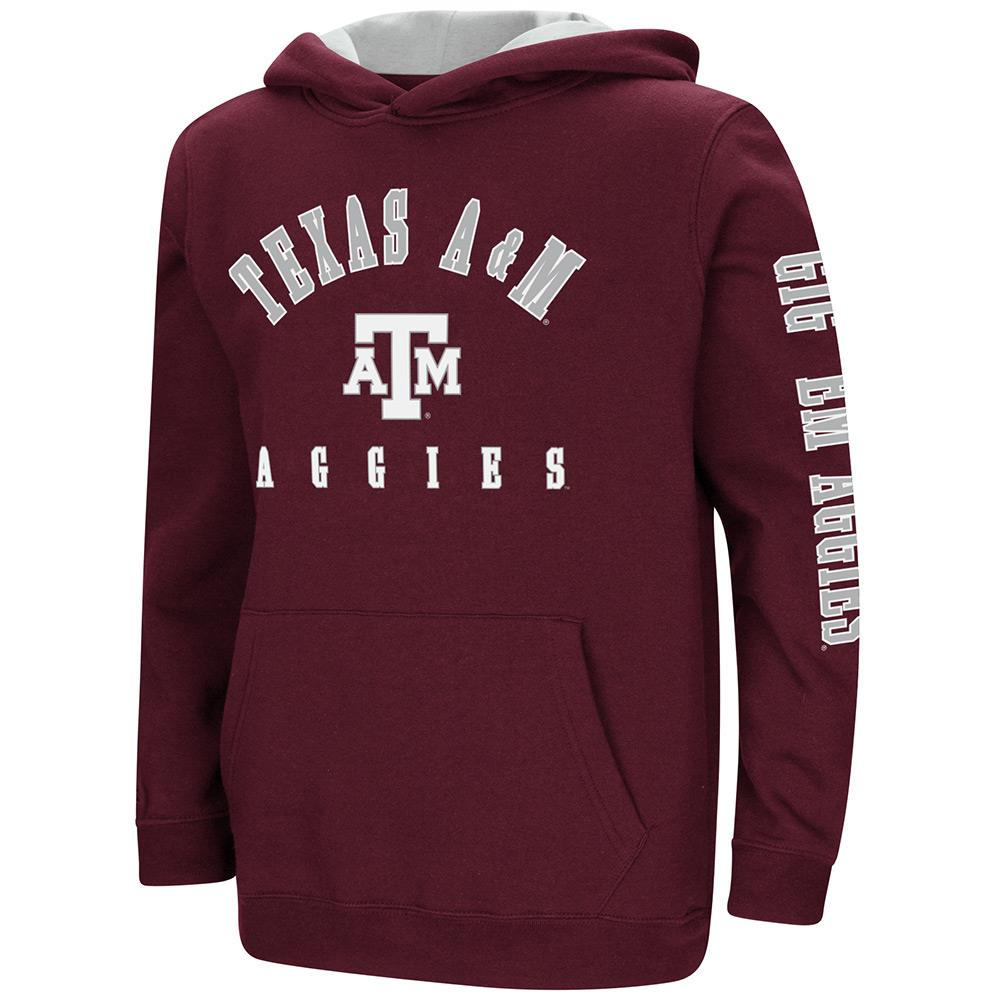 Youth Texas A&M Aggies Pull-over Hoodie - S
