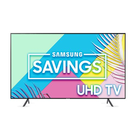 SAMSUNG 55u0022 Class 4K Ultra HD (2160P) HDR Smart LED TV UN55RU7100 (2019 Model)
