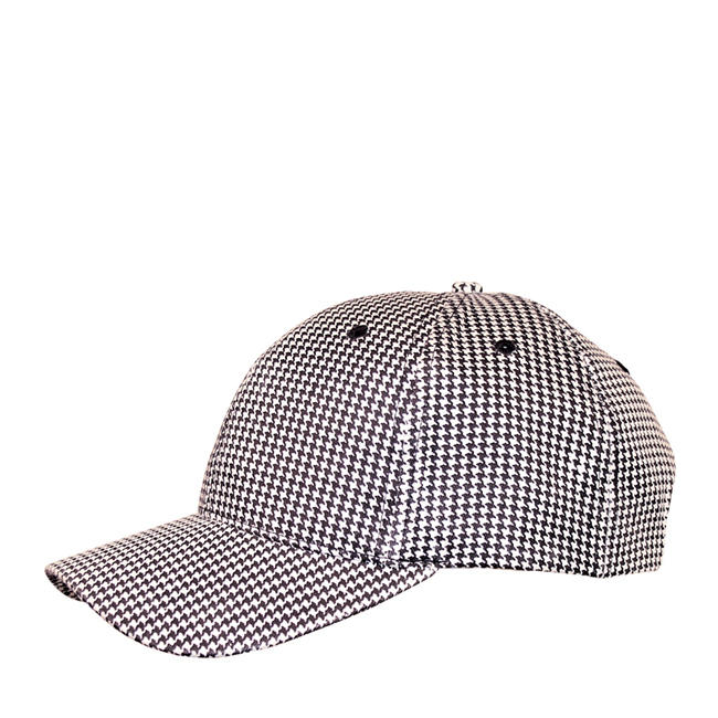Challenger Chef Cap Black/White Check