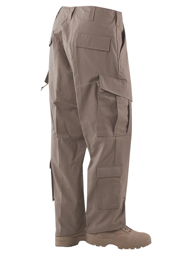 TRU Trousers Khaki 65/35 Polyester, Cotton Rip-Stop, XSmall Regular