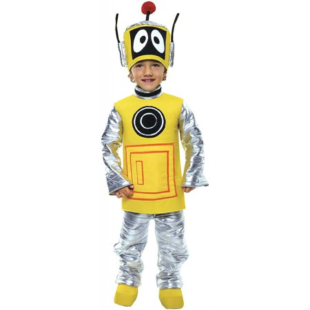 Yo Gabba Gabba Plex Toddler Costume for $<!---->