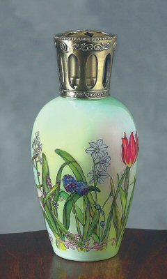 Ne 'Qwa Art 713-LA-BR Les Fleurs Fragrance Oil Lamp by Ne 'Qwa Art