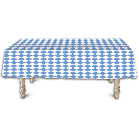 Oktoberfest Decorations Cheap (New Oktoberfest Blue And White Table Cover Party Decoration 54