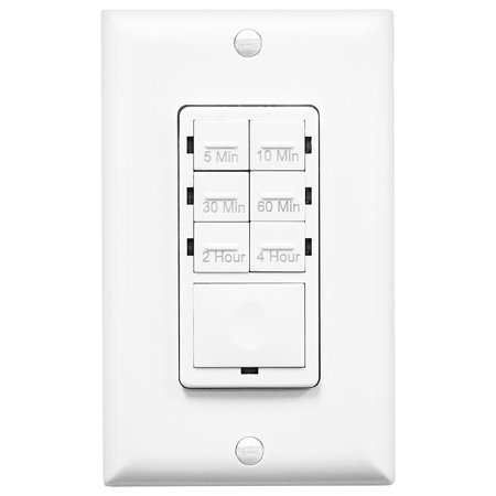 enerlites het06 in wall countdown timer switch wall plate. Black Bedroom Furniture Sets. Home Design Ideas