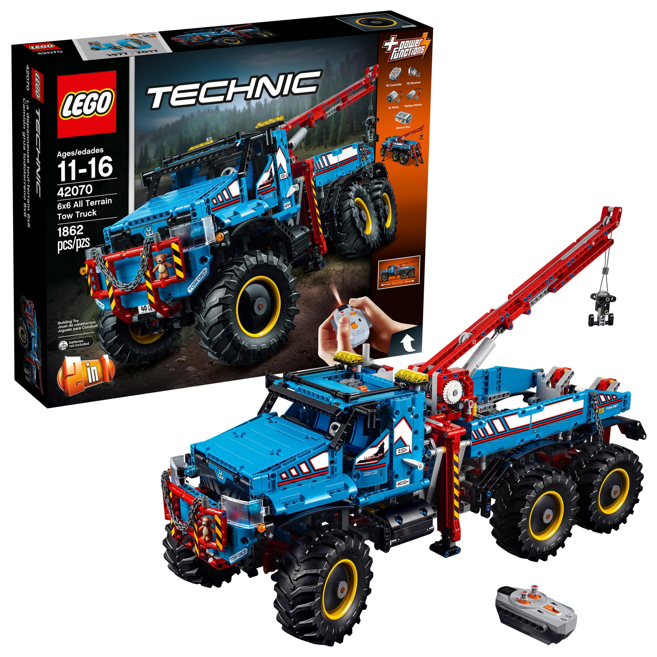Lego Technic 6x6 All Terrain Tow Truck 42070 by LEGO System Inc