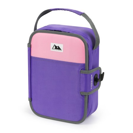 Arctic Zone Zipperless Lunch Purple and Pink