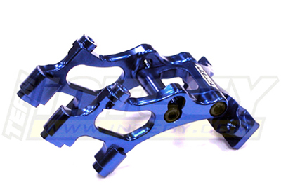 Integy RC Toy Model Hop-ups T3426BLUE Alloy Wing Mount for 1 16 Traxxas E-Revo VXL by Integy