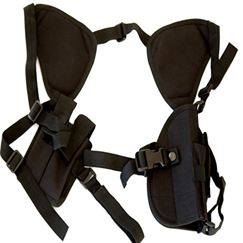 Best Shoulder Gun Holster for Concealed Carry Universal Fit for Glock, Smith & Wesson, Ruger, & All Others! by Under Control Tactical