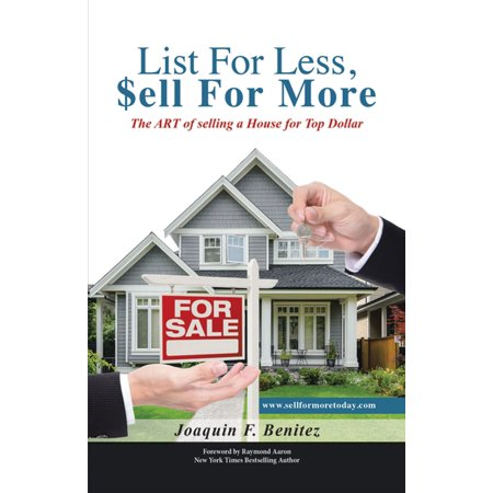 List For Less, Sell For More - eBook (Difference Between List Price And Selling Price)