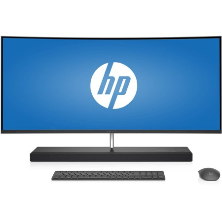 Hp Envy 34 B010 Curved All In One Desktop Pc With Intel Core I7 7700T Processor  16Gb Memory  34   Monitor  1Tb Hard Drive  256Gb Solid State Drive And Windows 10 Home