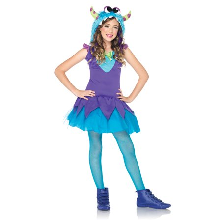 Child Cross-Eyed Carlie Monster Costume by Leg Avenue - Leg Avenue Kids Costumes