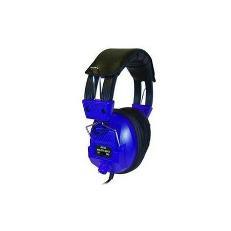 Avid Technology Ae 808 Over Ear Headphones With Volume Control Ae 808Blue