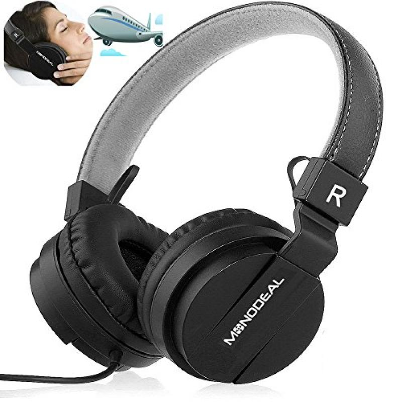 Active Noise Cancelling Headphones with Mic, Monodeal Lig...