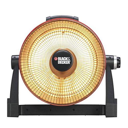 BLACK & DECKER 800-Watt Infrared Radiant Electric Portable Heater