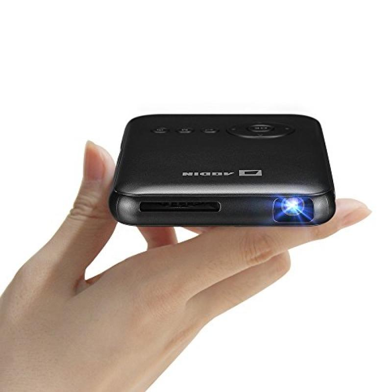Smart Mini Android Video Cinema Projector by Aodin Featur...