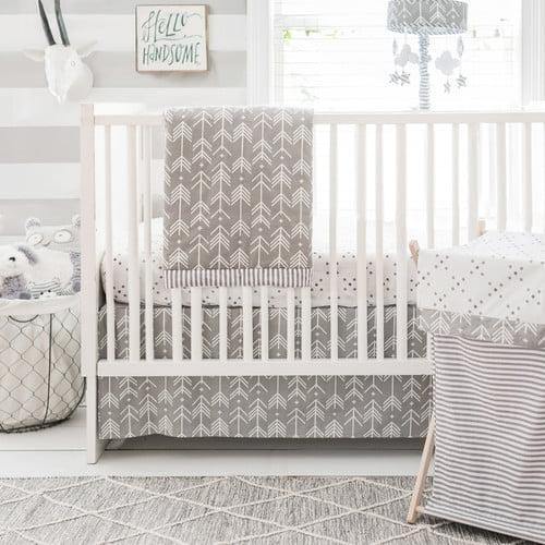 My Baby Sam Little Explorer 3 Piece Crib Bedding Set
