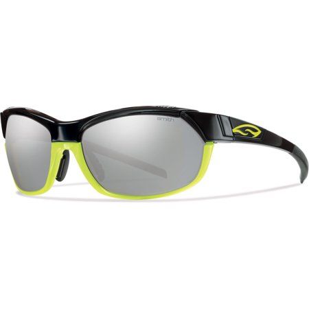 Smith Pivlock Overdrive Sunglasses - Polarized - Men's (one size, black neon frame) (Smith Sonnenbrillen Pivlock)