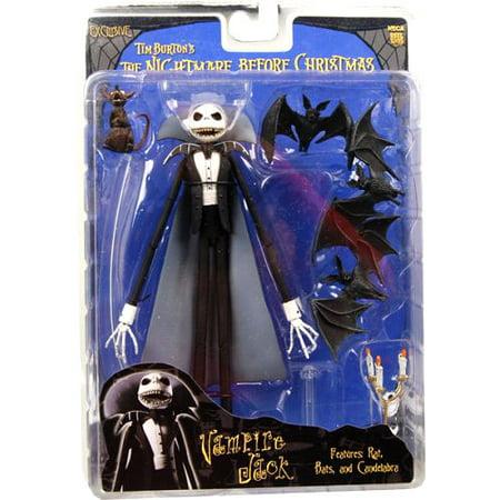 neca the nightmare before christmas vampire jack action figure - Nightmare Before Christmas Action Figures
