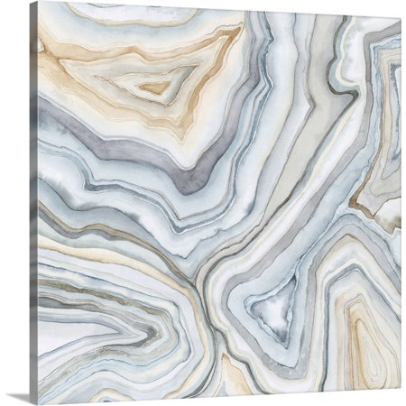 "Great BIG Canvas | ""Agate Abstract II"" Canvas Wall Art"