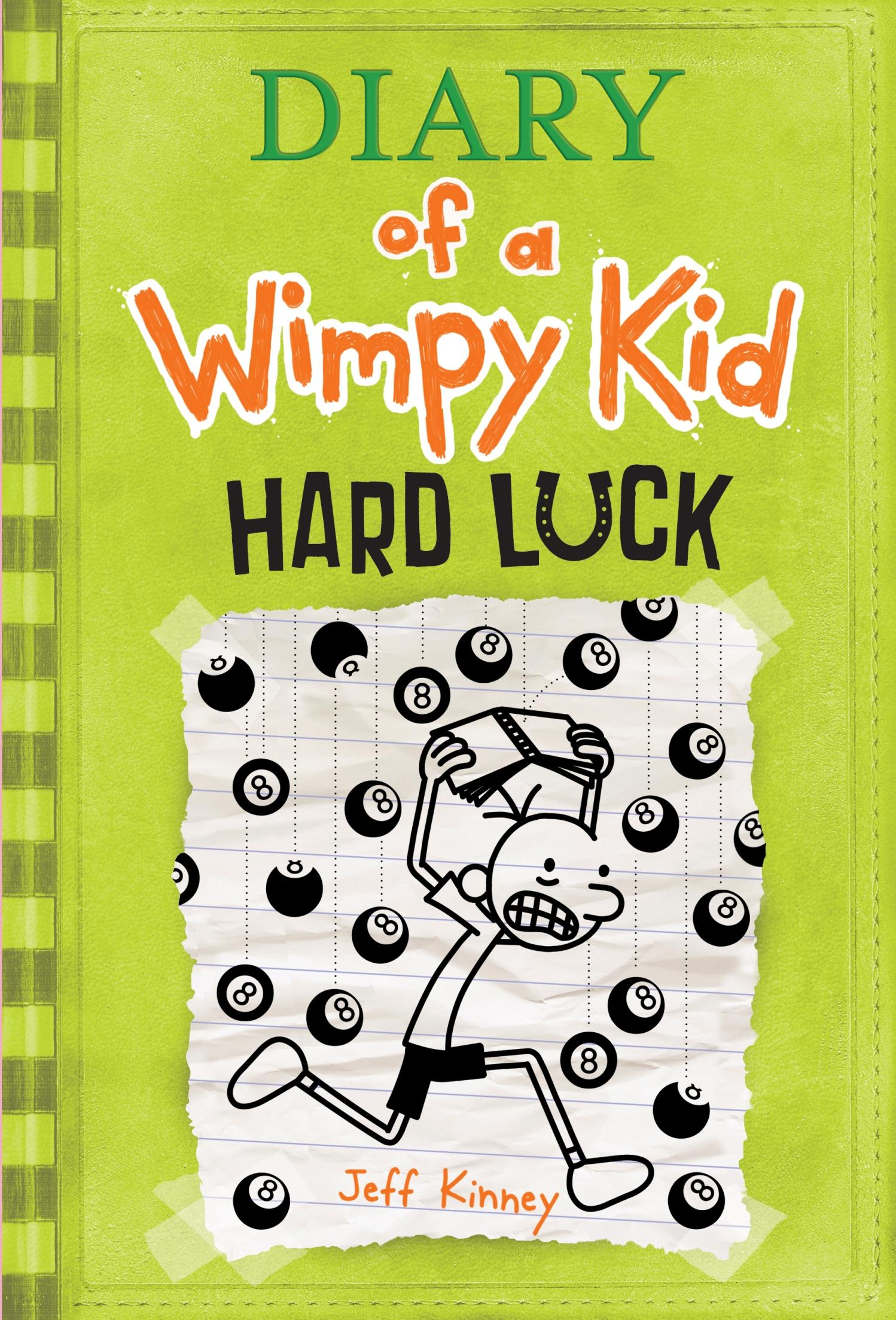Hard Luck Diary Of A Wimpy Kid 8 Hardcover Walmart Com