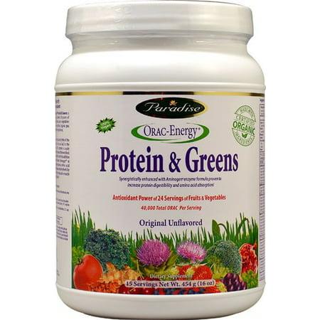 Paradise Herbs Orac Energy Protein Greens - 16 Ounce