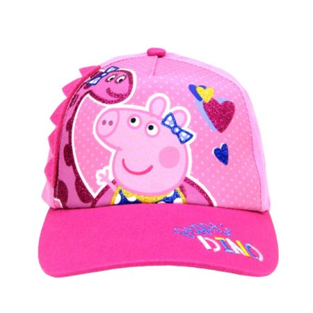 Peppa Pig DINO Girls Baseball Cap Hat (Dinosaur Hats)