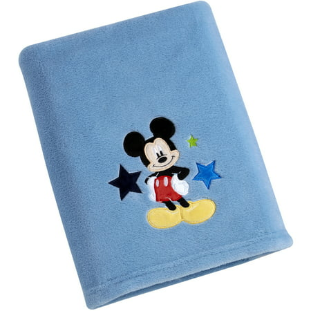 Disney Toddler Blankets (Disney Character Baby Blanket, Mickey)