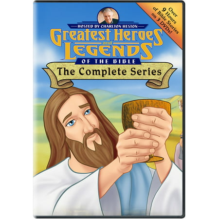 Greatest Heroes And Legends Of The Bible: The Complete Series (DVD) American Range Legend Series