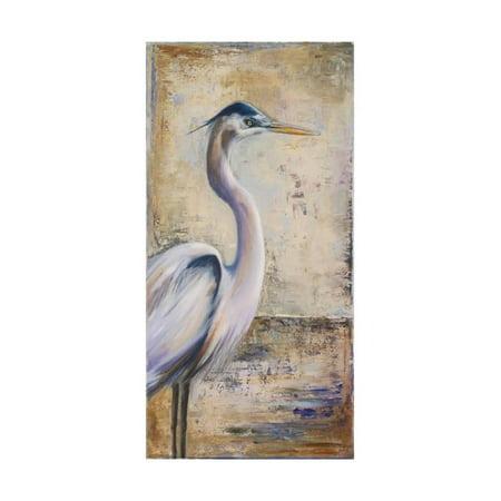 Heron Bay Wall - Blue Heron I Print Wall Art By Patricia Pinto