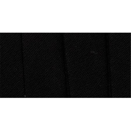 41690 Double Fold Bias Tape .5 in. 3 Yards-Black - image 1 of 1
