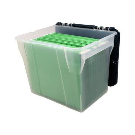 Iris File Box With Flip Lid