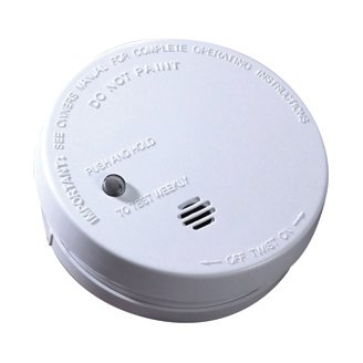 Kidde Fire Sentry Micro Profile 3 Year Smoke Alarm, 9 Volt Battery