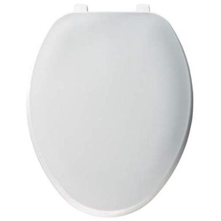 Bemis Residential Round Plastic Toilet Seat - Plastic Toilet Seat
