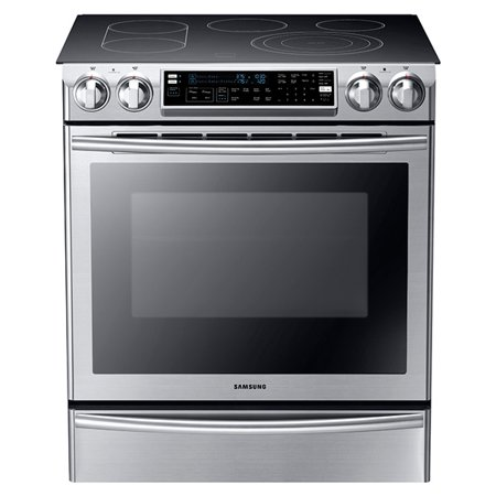 Samsung NE58F9710WS - Range - built-in - width: 29.8 in - depth: 26.3 in - height: 36 in - with self-cleaning - stainless steel