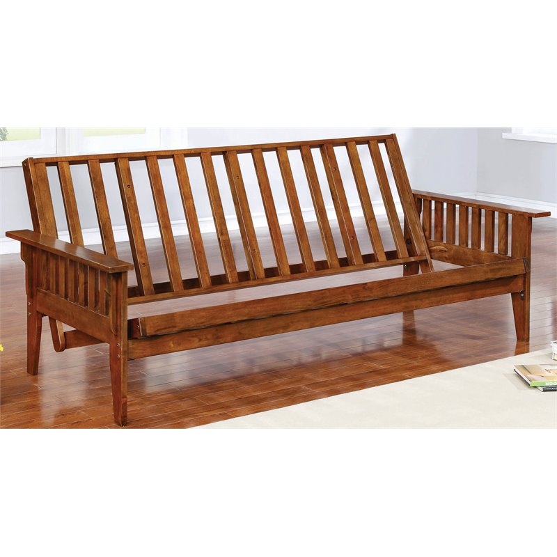 Bowery Hill Solid Wood Futon Frame In