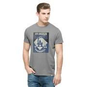 Los Angeles Dodgers - Knockaround Flanker Logo T-Shirt - X-Large
