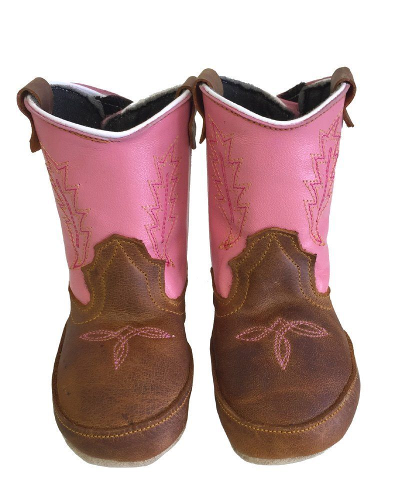 Baby Infant Toddler Cowboy Boots Soft