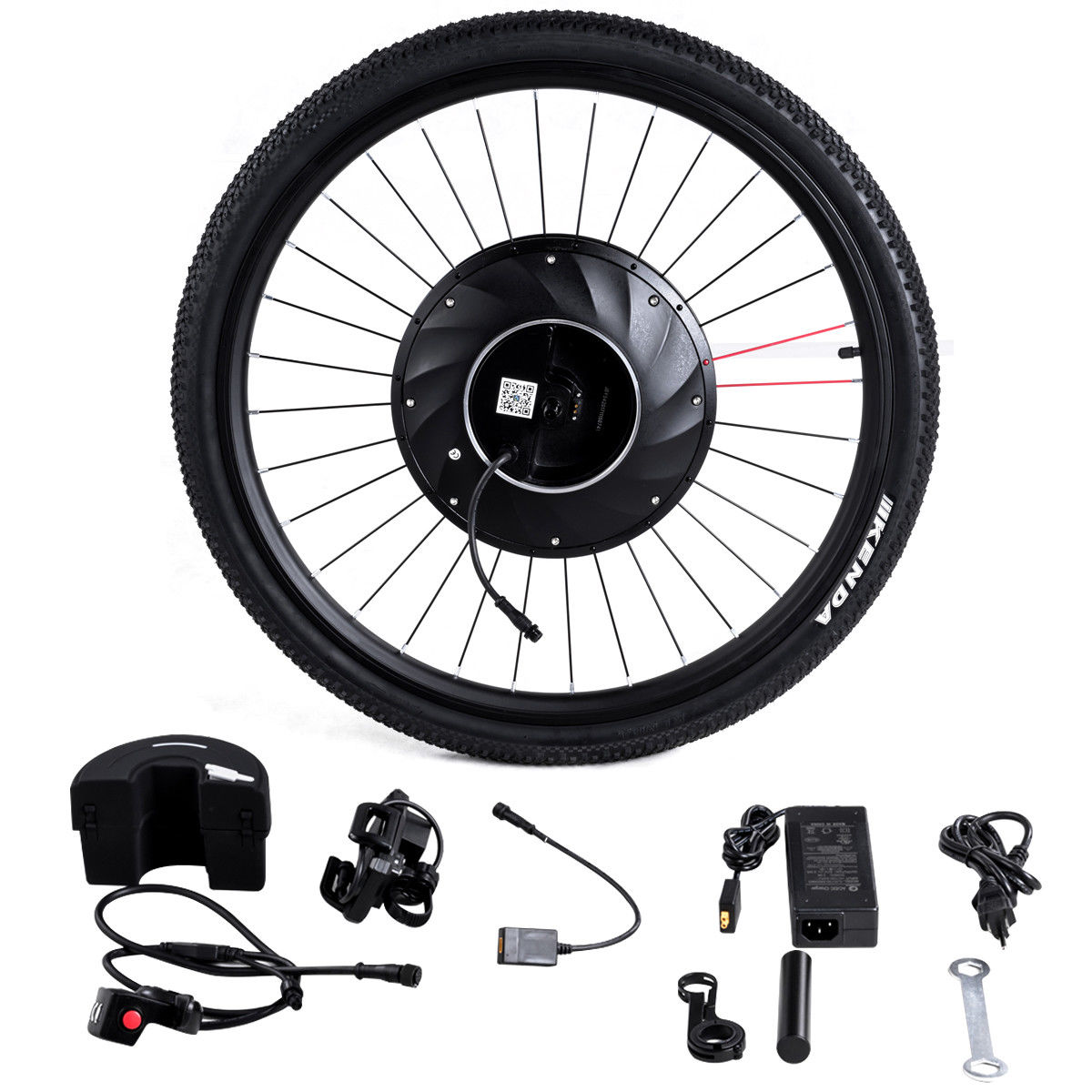 Gymax 36V 240W 26''Front Wheel Electric Bicycle Motor Kit
