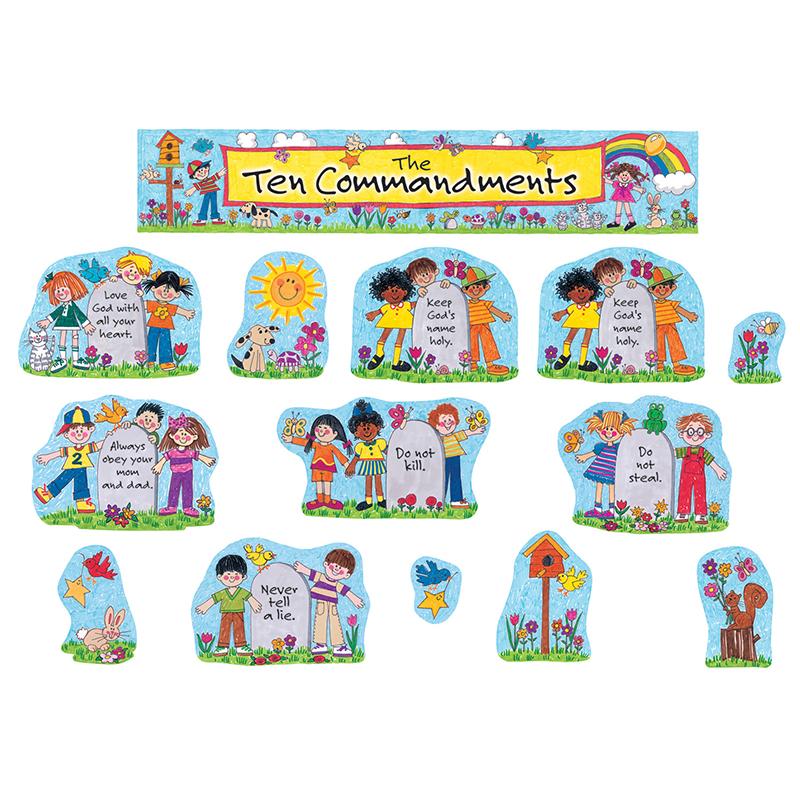 CHILDRENS TEN COMMANDMENTS BB SET