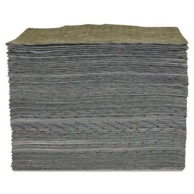 "Universal Sorbent Pad, 15"" x 17"", Heavyweight, Sold as 1 Box, 100 Each per Box"