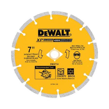 Dewalt Accessories DW4714T Diamond Wheel, Segmented, 7-In.