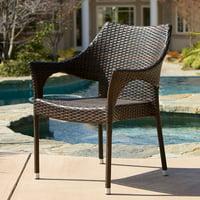 Vista Outdoor Wicker Chairs (Set of 2)