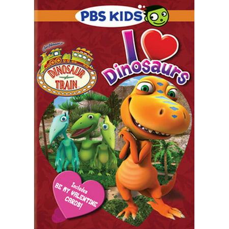 Dinosaur Train: I Love Dinosaurs (DVD) - Thomas The Train Halloween Dvd